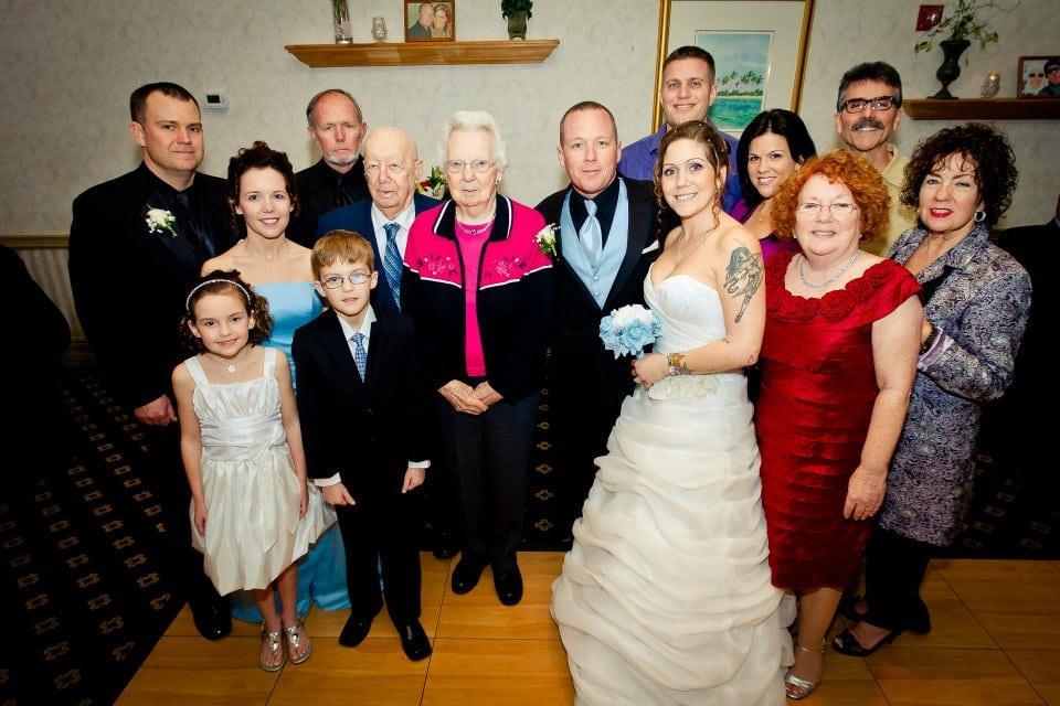 Behnke Wedding - We are family