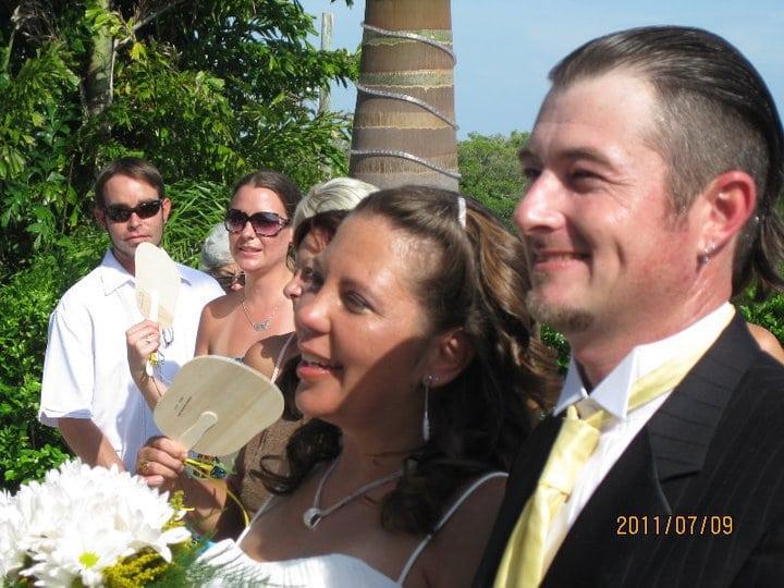 Stevenson Wedding - The happy couple