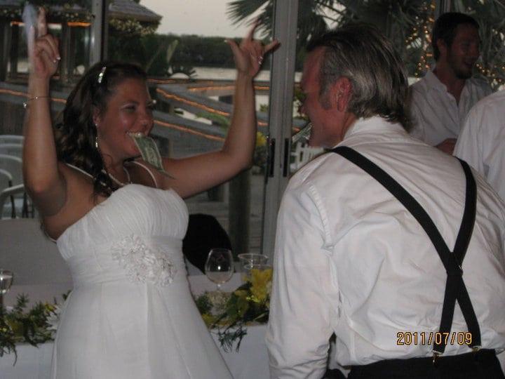 Stevenson Wedding - Wedding party money dance