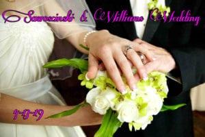 Sawoscinski & Williams Wedding @ Beacon Woods Civic Center