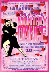 Bay Area Monthly Dance @ Gulf View Event Center | Port Richey | Florida | United States