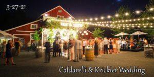 Caldarelli & Krickler Wedding @ The Barn at Oak Creek | Brooksville | Florida | United States