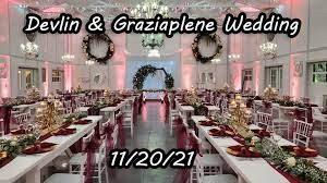 Devlin & Graziaplene Wedding @ Saxon Manor